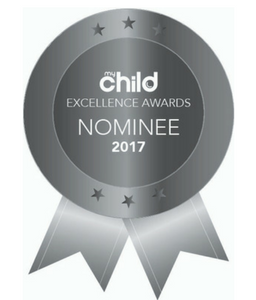 Sleepy Bub - My Child Excellence Awards 2017 Badge