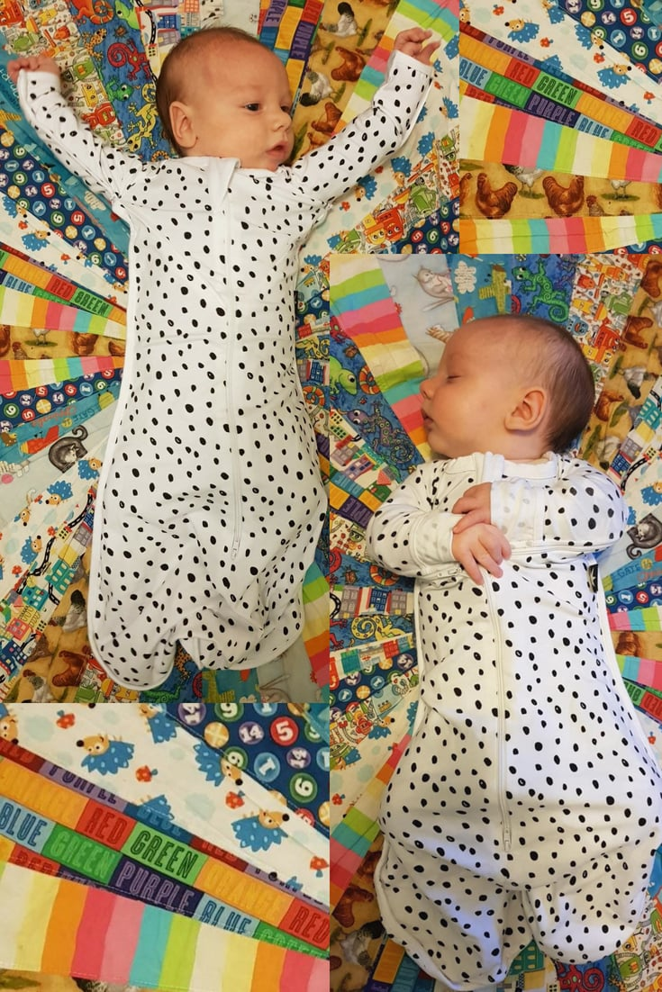 Stylishfinds Review of the Sleepy Bub Swaddle