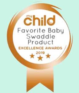 My Child Favourite Swaddle 2019 Bronze