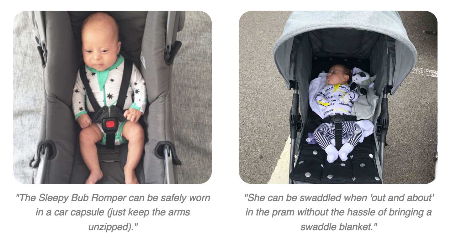The most practical swaddle