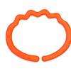 Neon Orange Pacifier / Soother Link