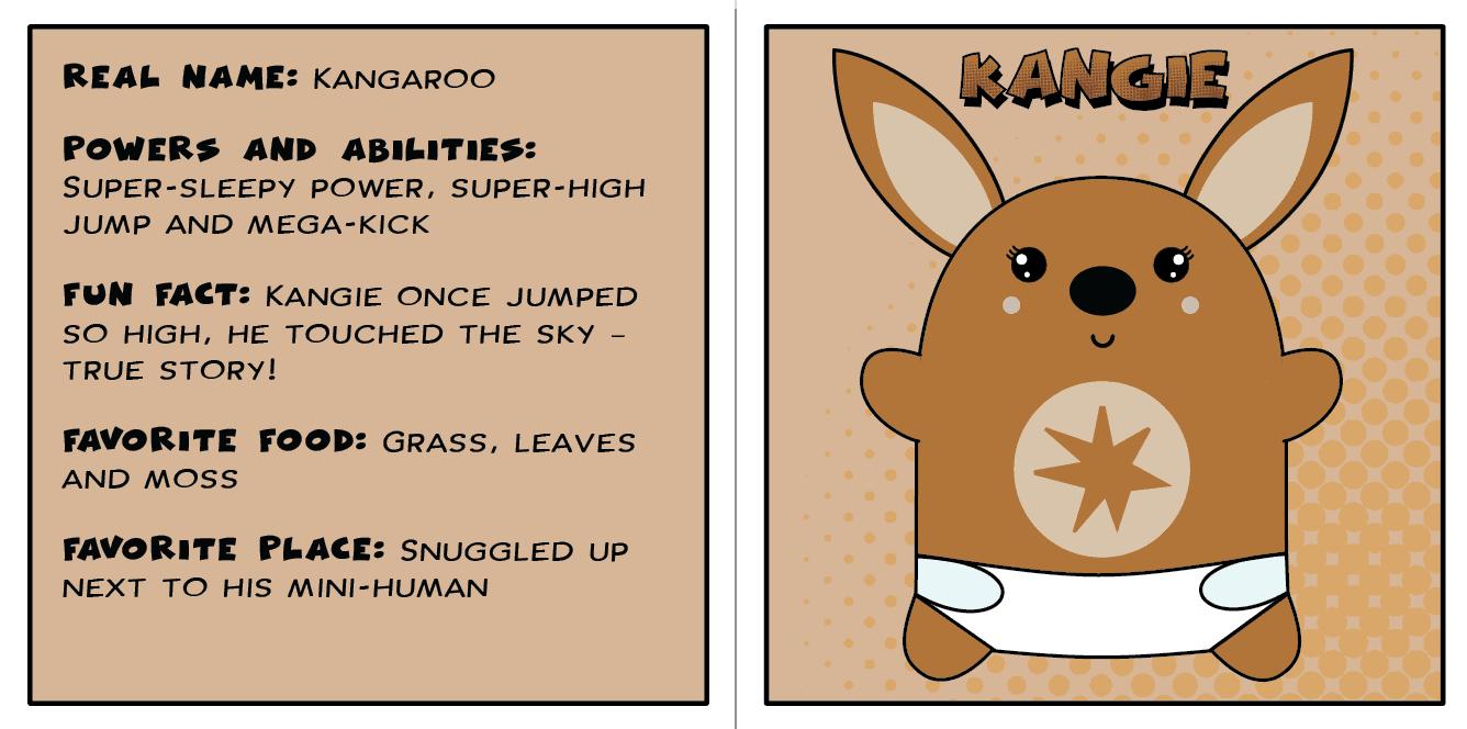 Meet Kangi The Kangaroo